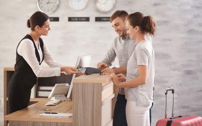 Zeitmanagement an der Reception